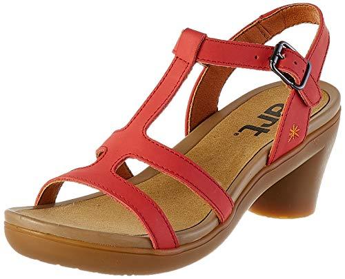 ART 1473 Grass Red/Alfama dames sandalen met open punt