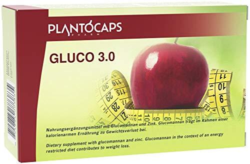 Abnehmen mit plantoCAPS GLUCO 3.0 Stoffwechsel Kapseln für Frauen und Männer