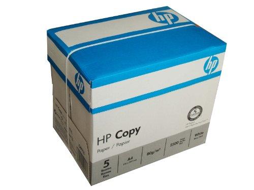 Druckerpapier, Kopierpapier weiß A4 80g/m² mit ColorLok-Technologie, 2500 Blatt von HP Hewlett Packard