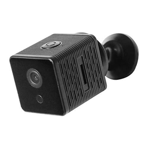 IPOTCH Mini cámara de inalámbrica Full HD 1080P videocámara de seguridad en el hogar detección de movimiento para Monitor remoto de Nanny