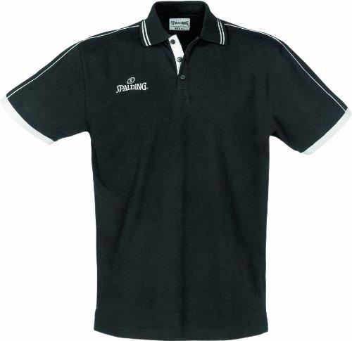 Spalding 300279702 Polo Homme Noir FR : XXXXL (Taille Fabricant : XXXXL)