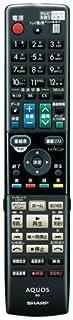 シャープ ブルーレイディスクレコーダー用純正リモコン 0046380253 GB017PA