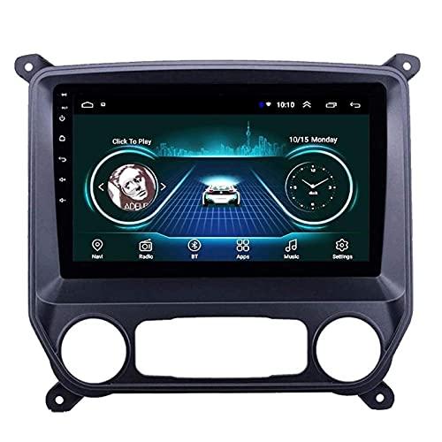 GPS Navigation Pantalla Táctil De 10 Pulgadas Reproductor Multimedia para Chevrolet Colorado 2014-2018, FM/Bluetooth/WiFi/SWC/Enlace De Espejo/Cámara De Vista Trasera,8 Core-WiFi: 4+64G