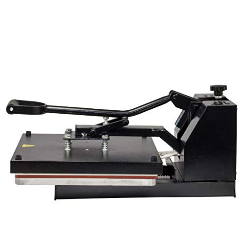 HobbyCut H001-S Transferpresse 38cm x 38cm Textilpresse 1800 Watt - 2