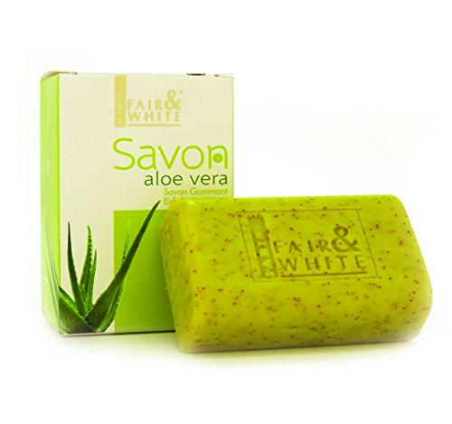 Fair and White Original Exfoliating Soap - Repairing & Nourishing, 200g / 7oz with Aloe Vera