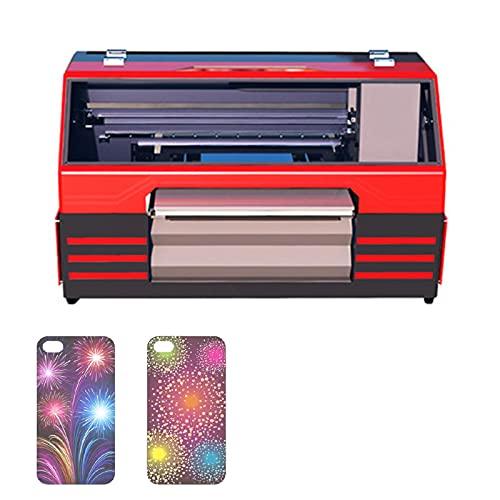 HXXXIN Business Flachbettdrucker Farbdruck All-In-One-Tintenstrahldrucker Mädchen Geschenk DIY Kann Glas Handyhülle Drucken
