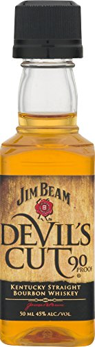 Jim Beam - Devil's Cut Miniature - 6 year old Whisky