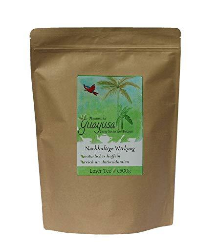 Guayusa von Napumarka, lose 500g- für 200 Tassen - natürlich frische Energie aus dem Amazonas- Koffeinhaltig