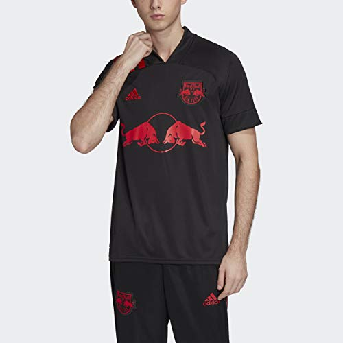 adidas New York Red Bulls Away Jersey Men's, Black, Size XL
