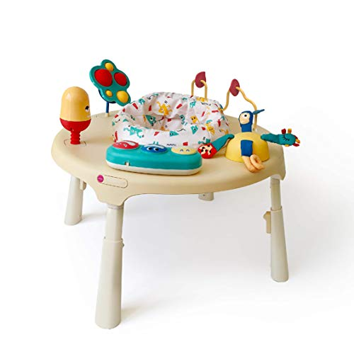 Oribel PortaPlay Stage-Based Baby Activity Center | Monsterland Adventures | Twice The Number of Stage-Appropriate Toys and Transforms to a Table (Unisex)