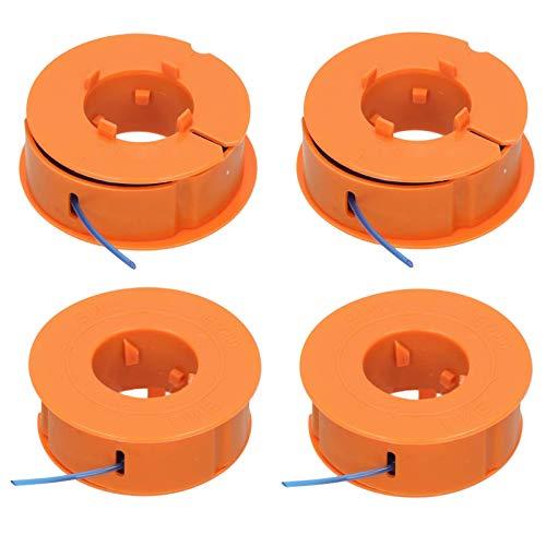 Spares2go - Juego de 4 bobinas y líneas para Bosch ART23 ART26 ART30 Strimmer