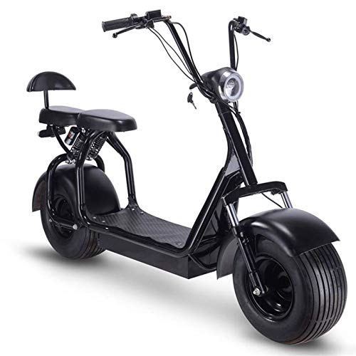 TOXOZERS Adult Citycoco 60v 1000W Fat Tire Scooter