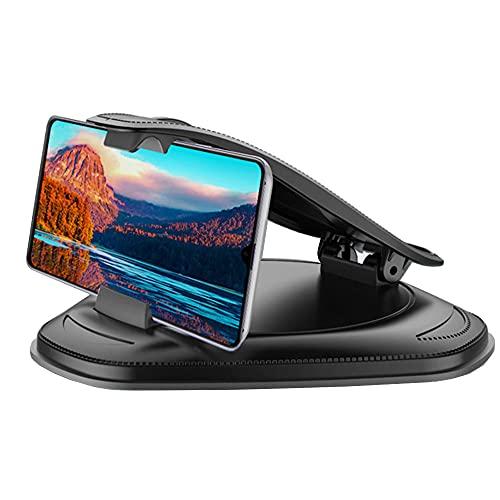 tenedor de teléfono celular para automóvil, panel control antideslizante gps montaje automóvil universal todos los teléfonos inteligentes, series compatibles fricción nolip 4-5.8 pulgadas dispositivos