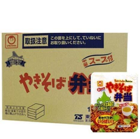 マルちゃん カップ麺 焼きそば 即席カップめん 東洋水産 やきそば弁当 (スープ付) 12食入 1ケース(1箱) 北海道限定 カップやきそば やきべん