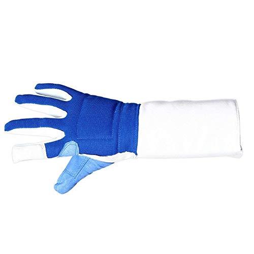 HYFEC Fechthandschuhe - Für Degen/Folien/Säbelschutzhandschuhe, Profi Fechthandschuhe, Kinder Fechthandschuhe (XXL,Richtig)
