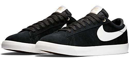 Nike SB Zoom Blazer Low GT, Scarpe da Fitness Bambino, Nero (Black/Sail 001), 36.5 EU