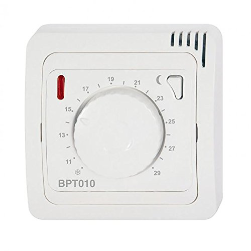 Knebel Funkthermostat Aufputz BPT010 Analog einfach 2 x AAA