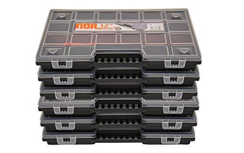 6er Set Sortimentkasten Sortimentskästen Sortierkästen Prosperplast NOR12 Sortimentsboxen...