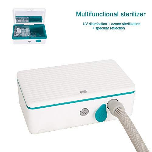 DNNAL CPAP Cleaner and Sterilizer, UV Sterilization Ozone...