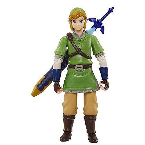 World of Nintendo, Legend of Zelda: Skyward Sword Link Action Figure, 4 Inches