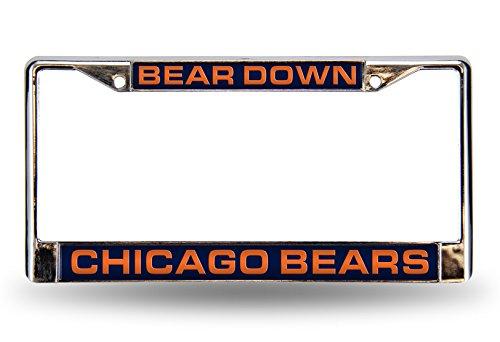 Chicago Bears Laser License Plate - 8
