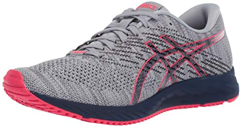 ASICS Women's Gel-DS Trainer 24 Running Shoes, 6M, Piedmont Grey/Peacoat