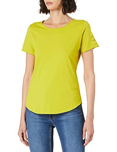 G-STAR RAW Mysid Option Slim T-Shirt, Dark Hivis C506-c424, XS Donna
