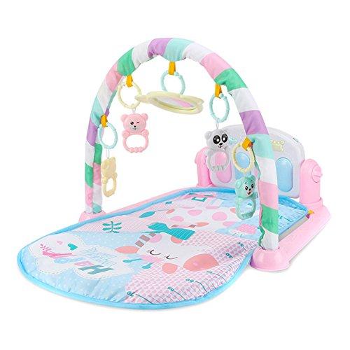 Wildlead Juguetes del bebé,Niños Niños Juguetes del bebé del Estante de la Aptitud Manta de música para Piano Jugar Plastic Intelectual Development … (3)