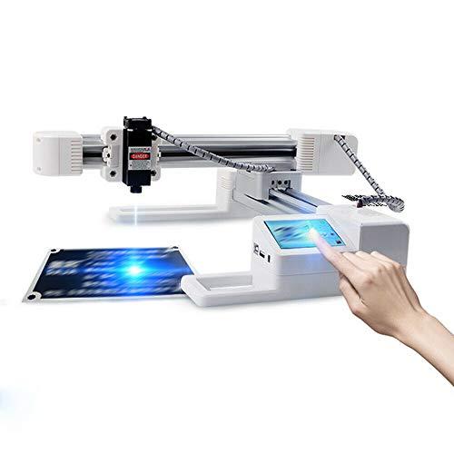 DIY Engraving Machine Kit, 3000mw Desktop Offline Engraving Machine Portable USB Wood Engraver DIY Logo Marking Cutter Machine
