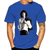 2021 Casual t-shirt Patti Smith Art Music Punk Rock Horses Retro Vintage Hipster 70s 80s Tee Shirt Wholesale O Neck