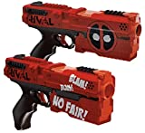 Hasbro - Rival Deadpool Kronos XVIII-500 Blasters (2-Pack) - Red And Black