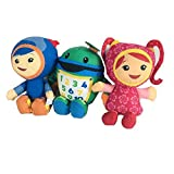 Modi Team Umizoomi Plush Doll Educational Toys Stuffed Toy Soft Plush Toy (3 pcs)