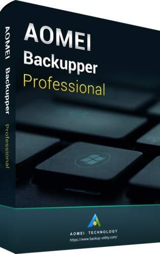AOMEI Backupper Professional Edition para 2 PCs, código de activación por correo...