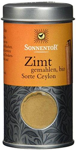 Sonnentor Zimt gemahlen (Sorte Ceylon) Streudose, 1er Pack (1 x 40 g) - Bio