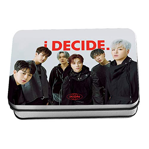 Upane 10 pezzi / Set Kpop IKON Photocard New Album i Decide Poster Lomo Cards 1 unit? per confezione