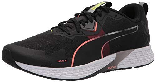 PUMA mens Speed Running Shoe, Puma Black-nrgy Peach, 10 US