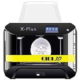 QIDI TECH X-Plus Großformat 3D-Drucker,WiFi-Funktion,Hochpräziser Druck mit ABS,PLA,TPU,Flexibles Filament,270x200x200mm