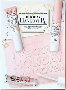 Too Faced I´ve Got a Holiday Hangover Set Hangover Primer Hangover Primer & Setting Spray Hangover Pillow Balm Makeup Bag Lim Edit