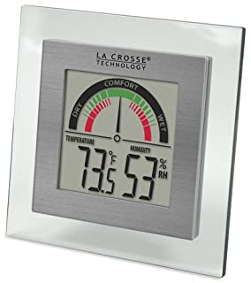 La Crosse Technology WT-137U Digital Thermometer/Hygrometer with Comfort Meter (Clear) (B006MOVP7K) | Amazon price tracker / tracking, Amazon price history charts, Amazon price watches, Amazon price drop alerts