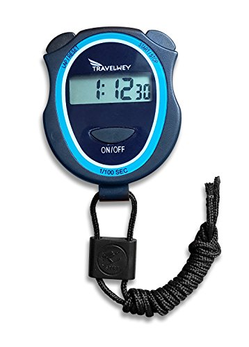 Digital Stopwatch - No Bells, No Whistles, Simple Basic Operation, Silent, Clear Display, ON/Off,...