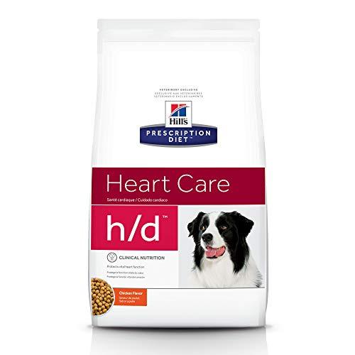 Hill's Prescription Diet h/d Heart Care Chicken Flavor Dry Dog Food, 17.6 lb bag