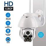 1080p Ptz Ip-Kamera Outdoor Speed Dome Drahtlose WiFi-überwachungskamera Pan Tilt 4X Zoom Ir-Netzwerk CCTV-überwachung Babyphone 1