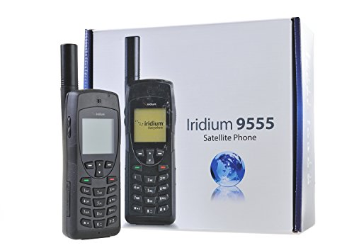 Iridium 9555 Satellitentelefon mit SIM-Karte und 500 Gesprächsminuten / 360 Gültigkeit Mit dem GTC