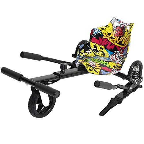 Accessorio per Fissaggio Sedile per Kart Hoverboard, Compatibile con Scooter Autobilanciati da 8/9/10 Pollici, per Bambini E Adulti
