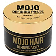 MOJO HAIR DEFINING PASTE. STRONG HOLD. TEXTURE. NATURAL MATTE FINISH. LUXURY FRAGRANCE 75ml / 64g (1 Pack)
