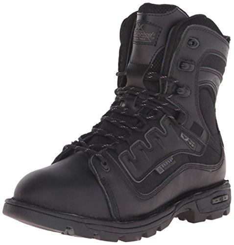 "Thorogood 834-6449 Men's Genflex2 Tactical - 8"" Side Zip Work Boot, Black - 12 D(M) US"