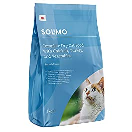 Amazon Brand – Solimo – Complete Dry Cat Food
