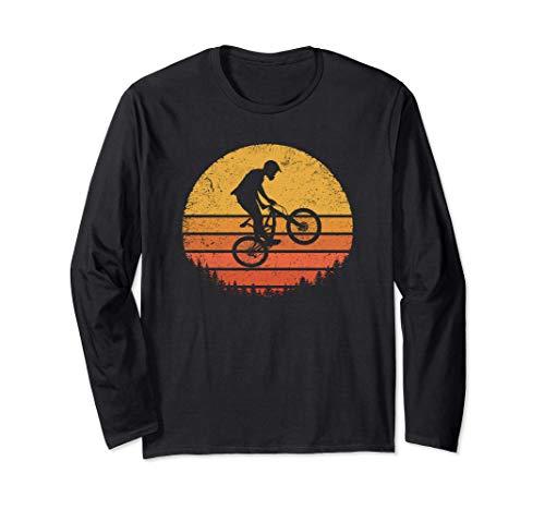 Mountain Biking Retro MTB Gift Enduro Vintage Downhill Bike Maglia a Manica