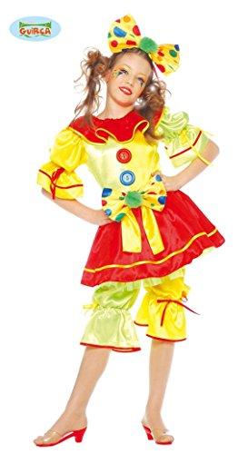 Disfraz de payasita guasona para niña - 7-9 años
