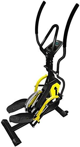 Wghz Máquina elíptica, Bicicleta estática dinámica con Control magnético, máquina de Escalada con Andador Espacial Multifuncional, para el hogar y el Gimnasio